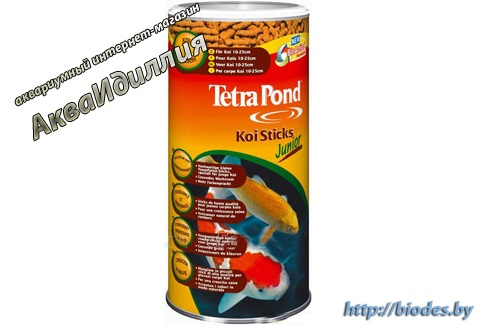 Tetra Pond Koi Sticks Junior 1 л
